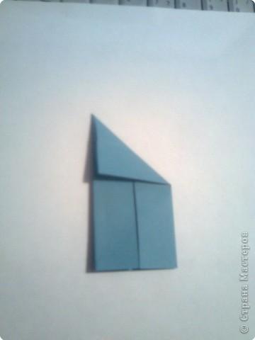 Складываем квадрат попалам. фото 4