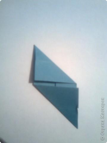 Складываем квадрат попалам. фото 5