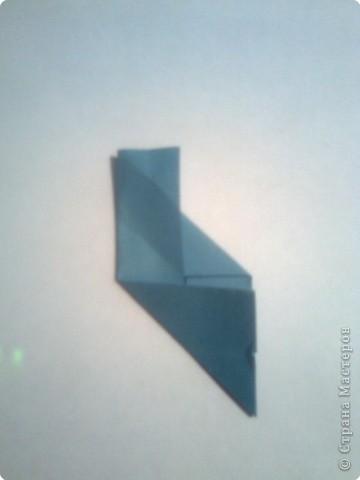 Складываем квадрат попалам. фото 6