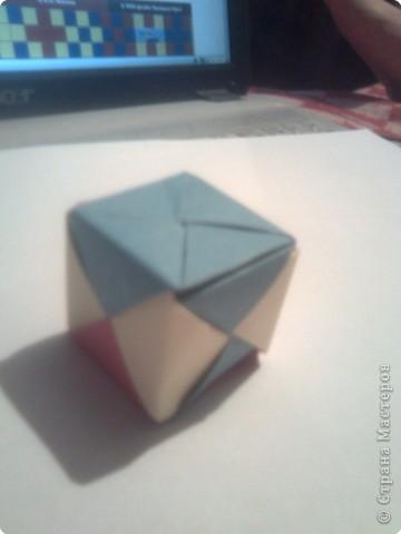 Складываем квадрат попалам. фото 15