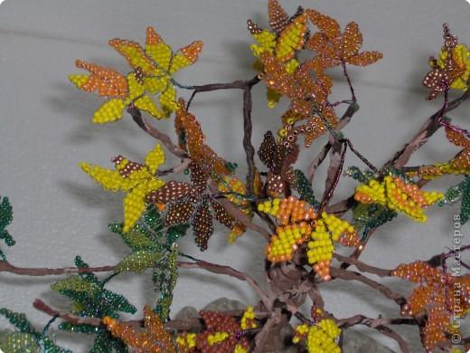 Бисероплетение: В багрец и золото одетые леса... фото 2