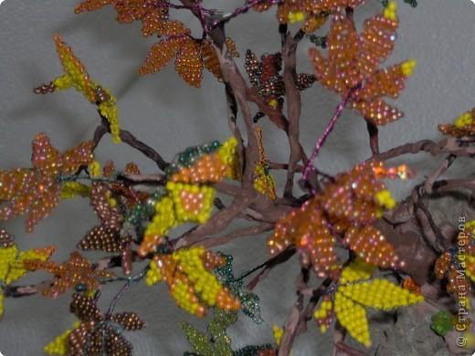 Бисероплетение: В багрец и золото одетые леса... фото 3