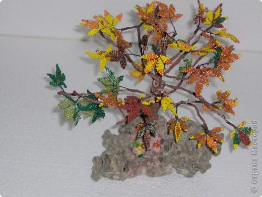 Бисероплетение: В багрец и золото одетые леса... фото 1