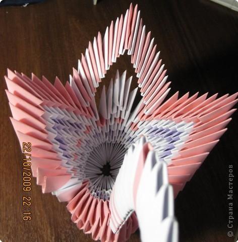 Оригами модульное: МОй маленький павлинчик фото 2