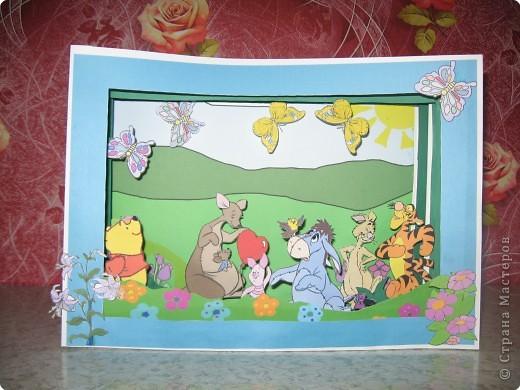 Бумажный туннель: Винни пух и его друзья фото 1