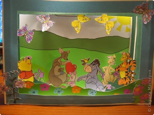 Бумажный туннель: Винни пух и его друзья фото 2