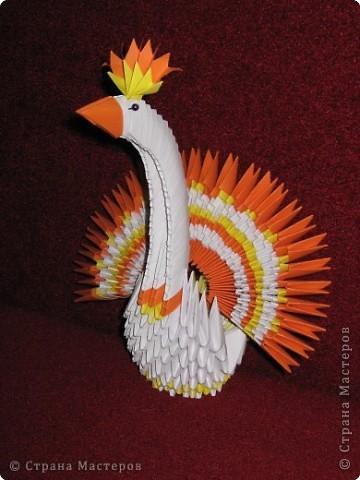 Оригами модульное: Птички. фото 1