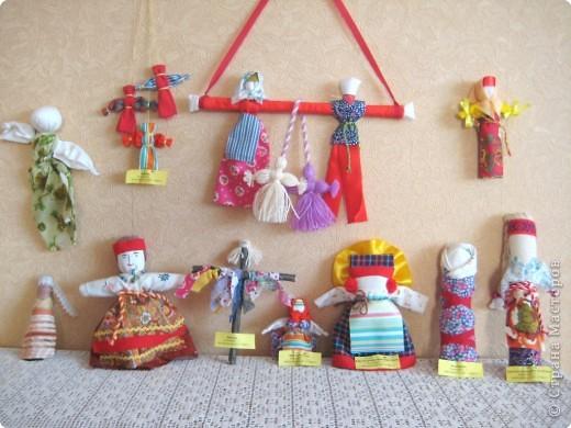 Игрушка мягкая: Таких кукол мы делаем с детьми на занятиях фото 1