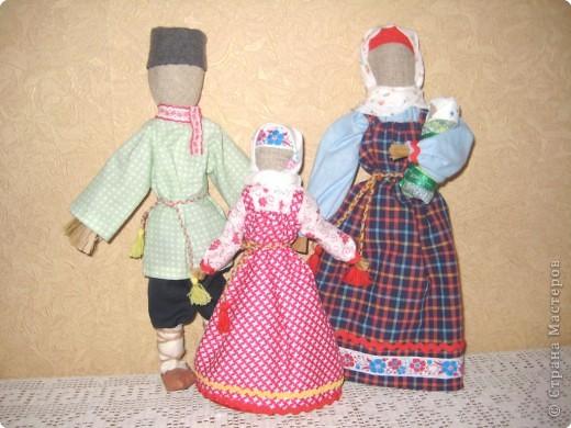 Игрушка мягкая: Таких кукол мы делаем с детьми на занятиях фото 2