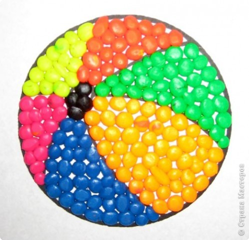 Мозаика: Пластилиновая мозаика фото 4