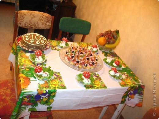 Так стол выглядел в самом начале. фото 1