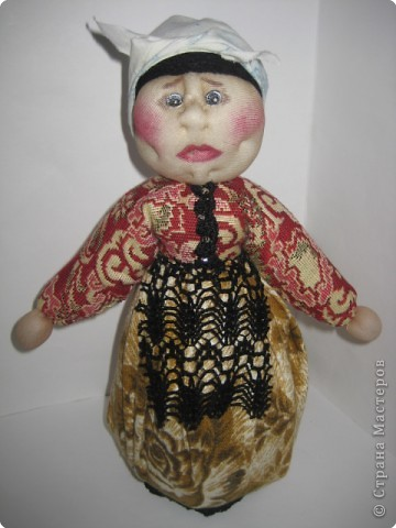 Шитьё: Кукла-погремушка