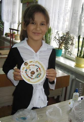 Такие тарелочки подарили на День пожилого человека. фото 10