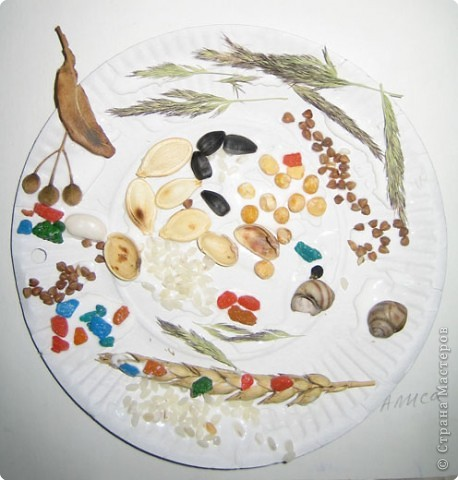 Такие тарелочки подарили на День пожилого человека. фото 11
