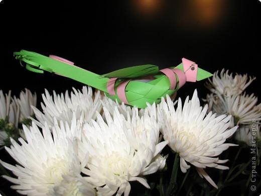 Плетение: ПТИЧКА фото 1