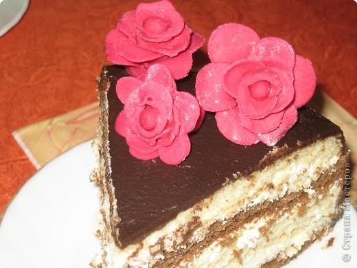 Тортик в разрезе.