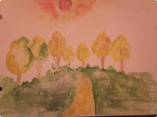 Рисование и живопись: Просто осень...