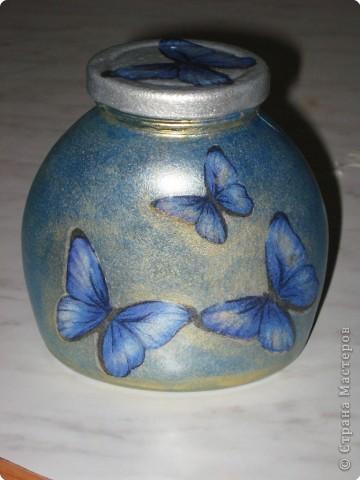 Декупаж: бабочки фото 3