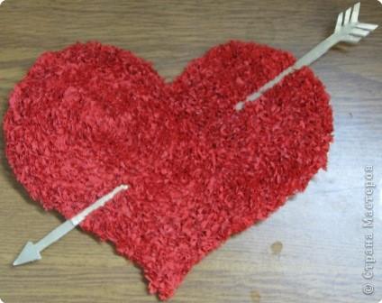 Торцевание: Сердечко для любимого