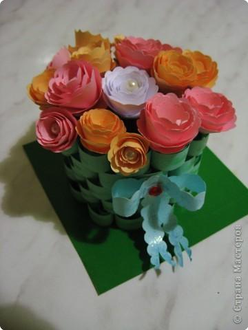 корзиночка роз фото 1