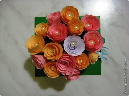 корзиночка роз фото 2