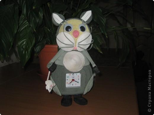 Квиллинг: Кот