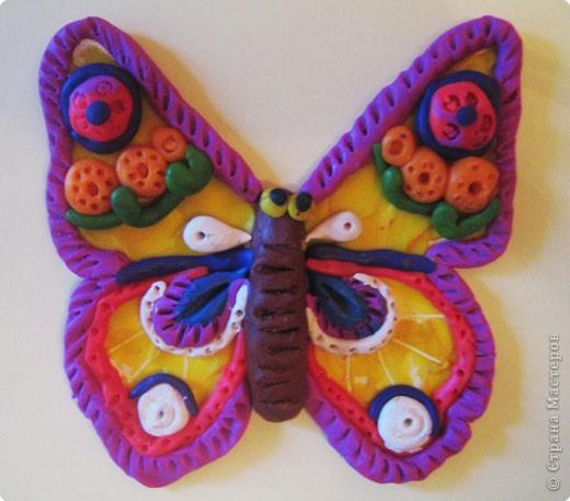 Лепка: Украшаем бабочек фото 1