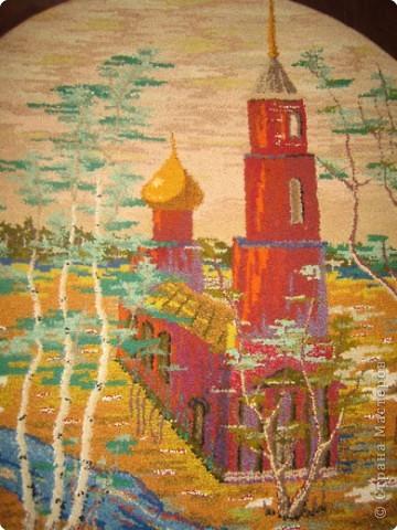 Вышивка ковровая: Нетканый гобелен фото 1