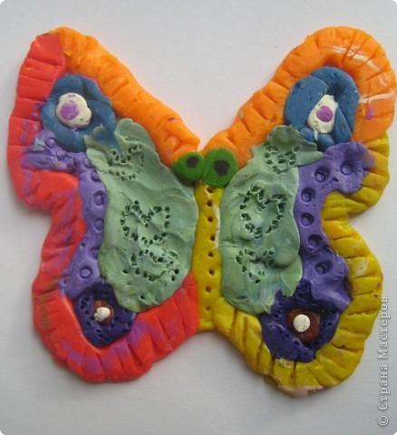 Лепка: Украшаем бабочек фото 12