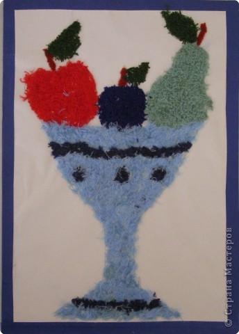 Мозаика: Ваза с фруктами