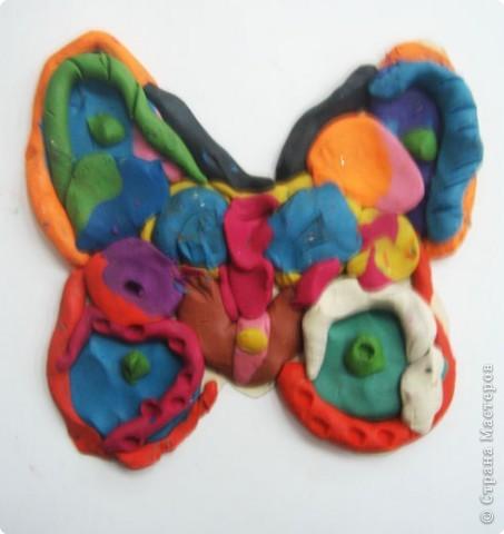Лепка: Украшаем бабочек фото 15