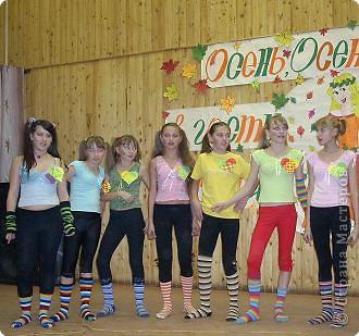 """23 октября в нашей школе проводился танцевальный конкурс """"Стартинейджер"""". В качестве эмблемы использовали плетеные листья по МК Татьяны Николаевны.  фото 3"""