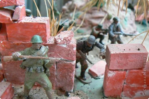 Моделирование: Панорама младшего сына на военную тему  фото 5