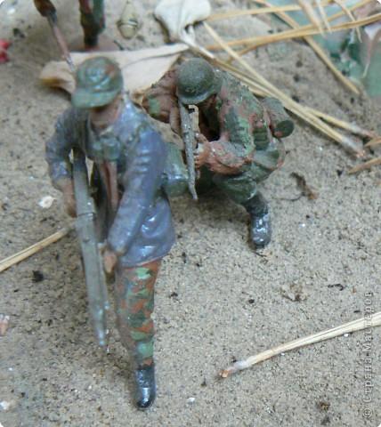 Поделки для мальчиков Фоторепортаж День Победы Моделирование конструирование Панорама младшего сына на военную тему  фото 6