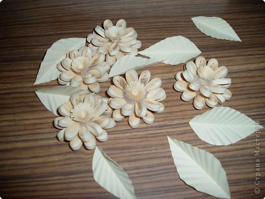 Цветы и листья я подкрасила акварелью фото 2