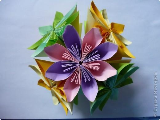 Кусудама: Цветочная радость фото 1