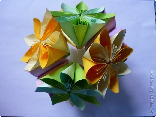 Кусудама: Цветочная радость фото 3
