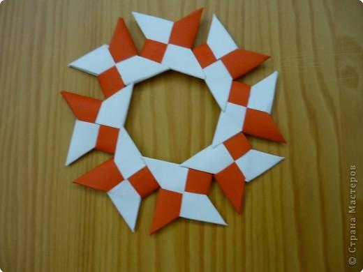 Оригами: Сюрикен и орнаменты из сюрикенов фото 2