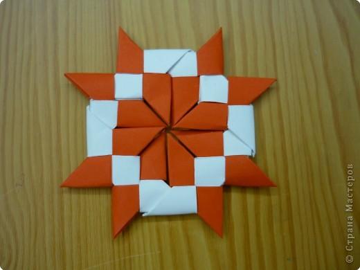 Оригами: Сюрикен и орнаменты из сюрикенов фото 3