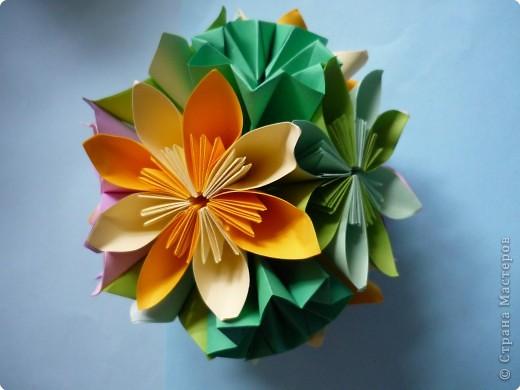 Кусудама: Цветочная радость фото 4