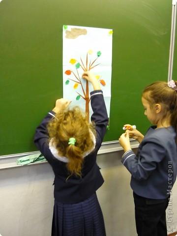 Оригами с детьми 1-го класса фото 5