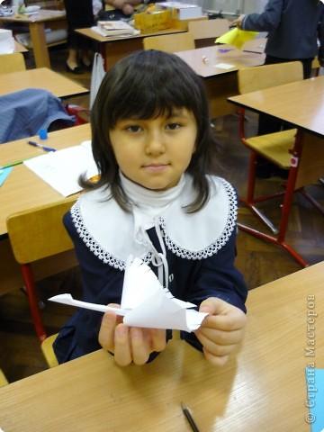 Оригами с детьми 1-го класса фото 9
