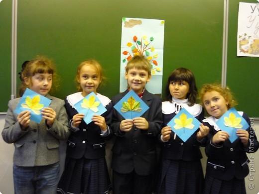 Оригами с детьми 1-го класса фото 8