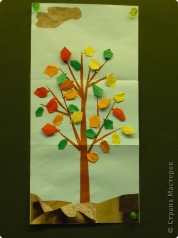 Оригами с детьми 1-го класса фото 1