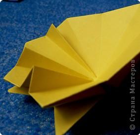 """Перед вами рецепт очередного модуля очередной цветочной кусудамы. Кусудаму эту нашла в книге С.Соколовой """"Бумажные орнаменты, звезды, гирлянды...""""  фото 19"""