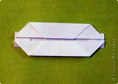 Красивая детская модель «Ракушка». Моя племяшка наделала себе десяток таких «сокровищниц». А можно как упаковку для маленького подарка использовать… или как украшение в морскую тему… фото 8