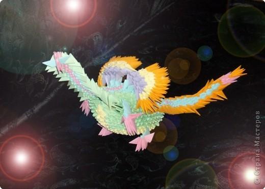 Это дракон радости  :)) Моя последняя работа.. 892 элемента Самостоятельная моя работа  фото 1