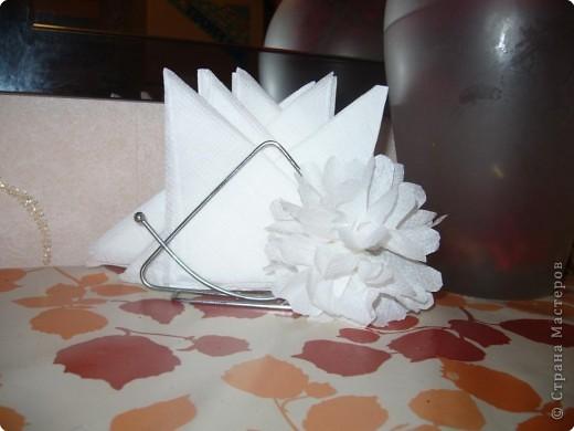 Цветочек для оформления интерьера за минуту!!! фото 1