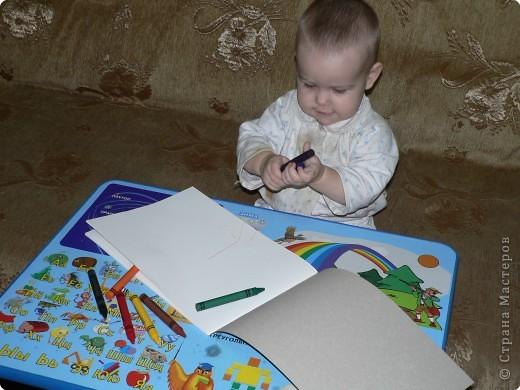 Восковые карандаши фото 2