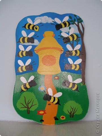 Аппликация: Пчелки